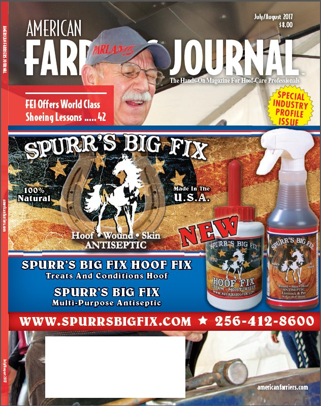 Spurrs big Fix Farriers Journal