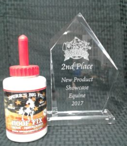 Spurrs Big Fix Hoof Fit Award